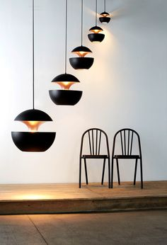 Here Comes The Sun by Bertrand Balas for DCW. The ceiling lamp was released in 1970 and is still collected by many French lighting addicts. Comes in five different sizes and four finishes.