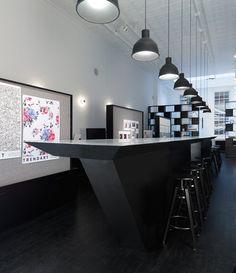 HOTSPOT - Chapter Indigo offices New York - omni//form office design Chapter Indigo New York - Architizer