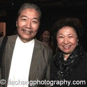 Yang Chihung and Shirley Young at the New-York Historical Society in New York on October 2, 2014. Photo by Lia Chang