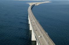This unique roadway connects the Danish capital of Copenhagen to the Swedish city of Malmö. The Øresund, designed by the Danish architect George K.S. Rotne, was opened on July 1, 2000. The bridge stretches about 8km before transitioning through an artificial island into a 4km tunnel under the Flint Channel. The site is interesting both …