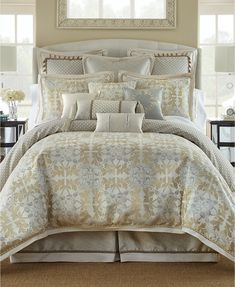 Waterford Olivette 4-Pc. Comforter Sets - Comforters: Down & Alternative - Bed & Bath - Macy's