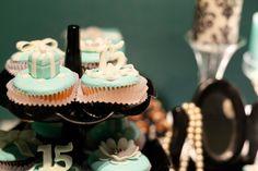 Tiffany Cupcakes 15 anos