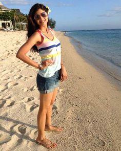 The sultry Shilpa Shetty holidaying in Mauritius! #ShilpaShetty