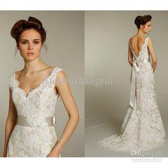 Ivory Alencon lace over taupe satin faced taffeta soft bridal dress wedding