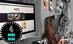Vlog 4 Anos Blog   Meu dia-a-dia de trabalho vídeos casa filhos e organização