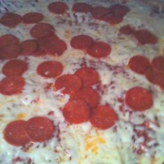 Bruno's Pizza from East Liverpool, Ohio. Look forward to this pizza, every time I visit.