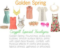 Caygill Special Focalizers: Golden Spring