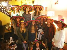 Friday night fiesta with the girls at The Flying Burrito Brothers Hamilton NZ Mexican - www.flyingburritobrothers.co.nz