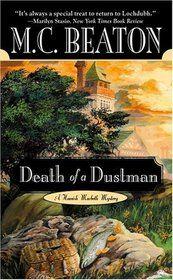 """Death of a Dustman (Hamish MacBeth, Bk 17)"""" by M. C. Beaton"""