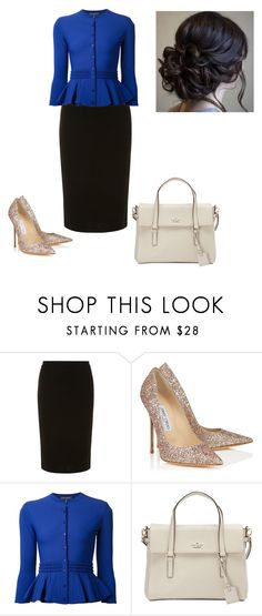 """""""All in the details"""" by brendansara1018 ❤ liked on Polyvore featuring Dorothy Perkins, Jimmy Choo, Alexander McQueen and Kate Spade"""