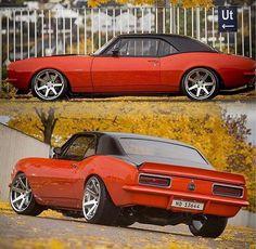 Hot Wheels - Tough Chevrolet Camaro via @arntzen23 getting ready to roll, she's sweet! 📷 Source @musclekingz #chevrolet #camaro #protouring #streetmachine #stance #americanmuscle #musclecar #streetrod #carporn #hotrod #lowfastfamous