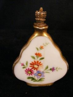 Dresden crown top perfume bottle