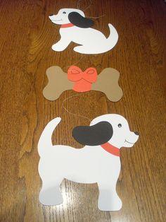 hund aus papier basteln katze hund pinterest papier basteln papier und hunde. Black Bedroom Furniture Sets. Home Design Ideas