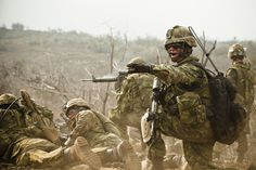Directing Troops / Instructions aux militaires | Flickr - Photo Sharing!
