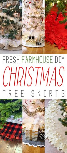 Just like we all love a cute skirt…so does your Christmas Tree. So today we have a of Fresh Farmhouse DIY Christmas Skirts that will make your tree SMILE! From a Fun Pom Pom Skirt to Skirts flourishing with ruffles of Burlap and Lace. There are even some incredible NO-SEW skirts that are awesome. If …