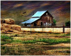 Very Old Barn.. Jeff  Bennett