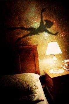Peter Pan's shadow