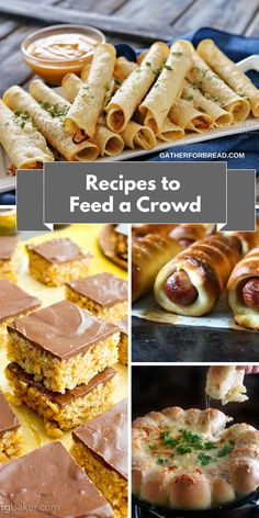 Big list of creative ways to feed a crowd on a budget from recipes to feed a crowd easy entertaining recipes and ideas for food to feed a forumfinder Choice Image