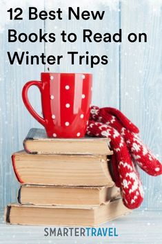 Whether you'll be taking a long flight, escaping the cold on a tropical beach, or hiding from your in-laws on a holiday trip, you might find yourself in need of a good book or two while traveling this winter. Winter Travel, Holiday Travel, Holiday Trip, Good New Books, Finding Yourself, Make It Yourself, Long Flights, Packing Tips, Travel Essentials
