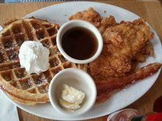 Had it.  amazing. Chicken n waffles! From Lola, Houston Tx
