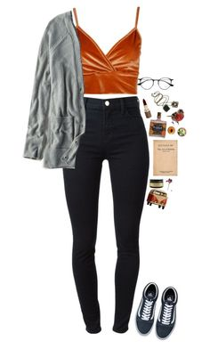 """i hate the way i feel like dying when im all alone"" by fuck0ffbye ❤ liked on Polyvore featuring Boohoo, J Brand, Ray-Ban, Fashion Fair, Anton Heunis and American Eagle Outfitters"