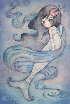 Nice watercolor style