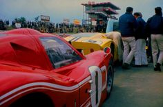1967 24 Hours of LeMans. Ford GT40MKIV(s)  history in previous posts