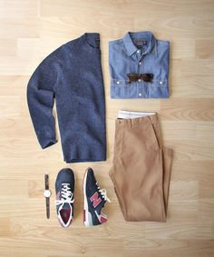 A new year a new balance.  Shoes: @newbalance 1400 Made in USA  Sweater/Chinos…