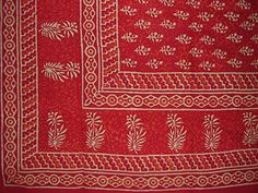 Hand Block Printed Tapestry or Spread Many Uses Red HOMESTEAD http://www.amazon.com/dp/B00YFTSFSQ/ref=cm_sw_r_pi_dp_Cw1qwb1APC9J7