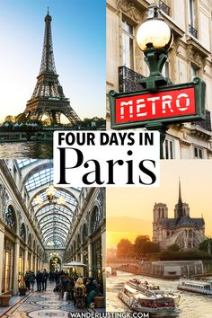 Planning to visit Paris, France? Insider tips for the best things to do in Paris with the perfect Paris itinerary with insider tips for what to do during four days in Paris. #Paris #france #travel #europe