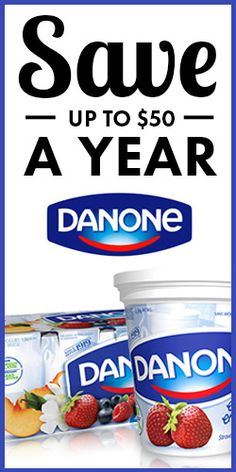 #Save Up to $50 a Year on #Danone Products