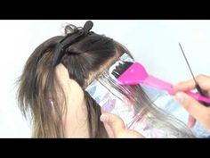 HOW TO COLOR 101 USING FOIL (Hair Color Technique) - YouTube   color ...
