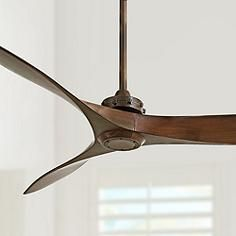 "60"" Minka Aire Aviation Rosewood Ceiling Fan"