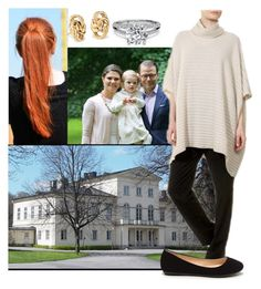"""Scandinavia Royal Tour - day #7 - spending a free day in Haga Palace with Victoria, Daniel and Estelle while Liam going for car ride with Prince Carl Philip"" by princessofpeople ❤ liked on Polyvore featuring Blue Nile and Eskandar"