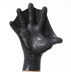 Webbed gloves that'll give you an extra edge in the pool.