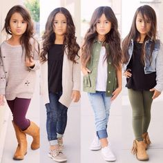 Cute baby girl clothes outfits ideas 24 TRENDS U NEED TO KNOW Kids Fashion Girl baby clothes cute girl Ideas outfits trends Cute Baby Girl Outfits, Kids Outfits Girls, Toddler Girl Outfits, Toddler Fashion, Kids Fashion, Kids Girls, Back To School Outfits For Kids, Ootd Fashion, Trendy Toddler Girl Clothes