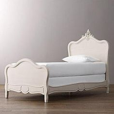 Odette Bed I RH Baby and Child - rococo kids bed, rococo stype bed, replica rococo bed,