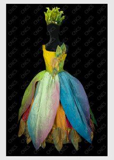 une danseuse pour le rôle d'une naïade | Collections du Centre National du Costume de Scène