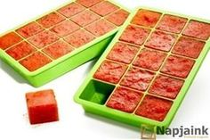 For an easy weeknight meal, save and freeze leftover sauces from previous meals in ice cube trays. The cubes can be reheated in a sauté pan when you need a quick sauce. Ice Cube Trays, Tips & Tricks, Easy Weeknight Meals, Kitchen Hacks, Buy Kitchen, Freezer Meals, Food Hacks, Food Network Recipes, Love Food