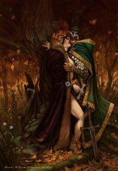 """La Belle Dame sans Merci"" by John Keats art by William O'Connor Artist Alley, Fantasy Setting, Pre Raphaelite, Mark Rothko, Artist Names, New Artists, Amazing Art, Fantasy Art, Art Drawings"