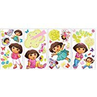 Dora the Explorer Peel & Stick Wall Decals / Wall Stickers Code: 01903 Dora Toys, Wall Stickers, Wall Decals, Dora The Explorer, As You Like, Baby Dolls, Nursery, Kids Rugs, Cute