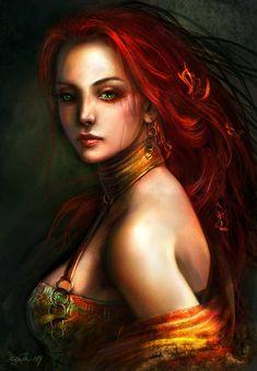 Din, Goddess of Power  by Kirsi Salonen