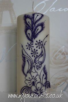Henna Candle.