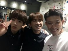 Bang Changseok has posted a photo of Celebrity Bromance with Jungkook & Minwoo ❤ #BTS #방탄소년단