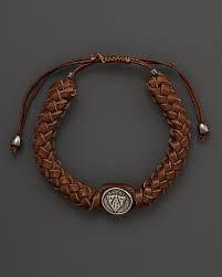 Gucci Silver And Leather Medium Crest Bracelet Fine Jewelry - Bloomingdale's Gucci Jewelry, Luxury Jewelry, Fashion Jewelry, Jewellery Earrings, Women's Fashion, Mens Designer Jewelry, Jewelry Design, Fine Jewelry, Women Jewelry