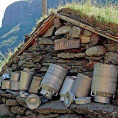 Sinjarheim is a authentic farmhouse in the Aurland Valley in Norway. http://sjh.no/skulegardsbruk/sinjarheim/ http://rallarrosa.no/   From THE ESSENCE OF THE GOOD LIFE™ http://www.pinterest.com/ConceptDesigner/ https://www.facebook.com/pages/The-Essence-of-the-Good-Life/367136923392157