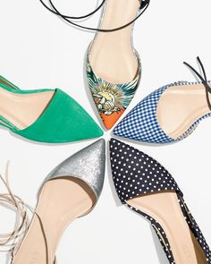 Do you speak J.Crew? Shiny ponies. Definition: those totally mood-lifting, outfit-making pairs of shoes.