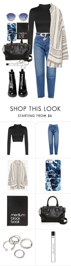 """Sin título #3855"" by beel94 ❤ liked on Polyvore featuring WearAll, Yves Saint Laurent, MARBELLA, Zara, Dinks, Rebecca Minkoff, Garrett Leight, Forever 21 and Fresh"