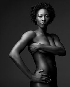 Megan Hodge - ESPN Body Issue 2012    Couldn't decide which board to pin this on so I'm doing both Athletes and Hairstyles!