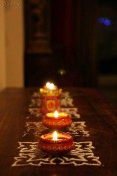 #Diwali Decorating at Home